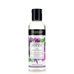 Tisserand Bodywash lavender white mint (200 ml)