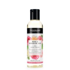 Tisserand Bodywash rose geranium leaf (200 ml)