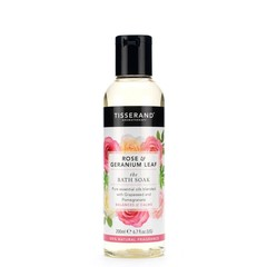 Tisserand Bath soak rose geranium leaf (200 ml)