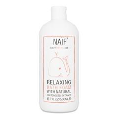 Naif Relaxing bath foam (500 ml)