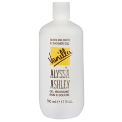 Alyssa Ashley Trendy line vanilla bath & shower gel (500 ml)