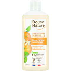 Douce Nature Douchegel & shampoo familie oranjebloesem (250 ml)