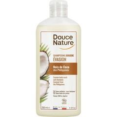 Douce Nature Douchegel & shampoo evasion kokos (250 ml)