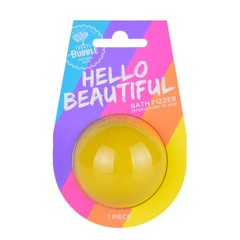 Treets Bubble Bubble halve bruisbal hello beautiful (1 stuks)