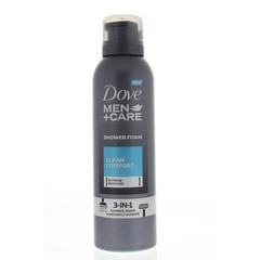 Dove Shower foam mousse clean comfort (200 ml)