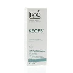 ROC Keops deodorant roller zonder alcohol (30 ml)