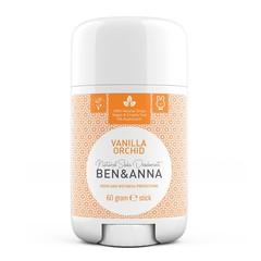 Ben & Anna Natuurlijke deodorant stick vanilla orchid (60 gram)