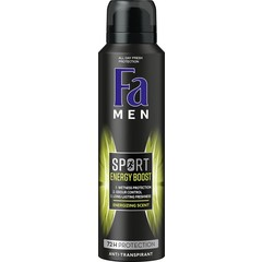 FA Men deodorant spray double power boost mini (50 ml)