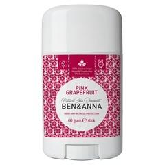 Ben & Anna Natuurlijke deodorant stick Pink grapefruit (60 gram)
