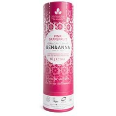 Ben & Anna Deodorant pink grapefruit push up (60 gram)
