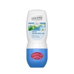 Lavera Deodorant roll-on fresh 24h met lemongrass F-D (50 ml)