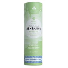 Ben & Anna Deodorant lemon & lime sensitive (60 gram)
