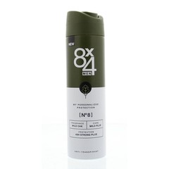8X4 Deodorant spray No 8 male anti perpsirant (150 ml)