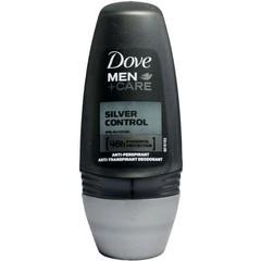 Dove Deodorant roll on men silver control (50 ml)