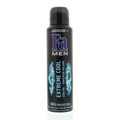 FA Men deodorant spray extreme cool (150 ml)