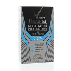 Rexona Deodorant stick max protect clean scent men (45 ml)
