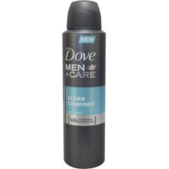 Dove Deodorant spray men clean comfort (150 ml)