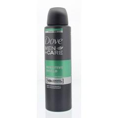 Dove Deodorant spray men sensitive shield (150 ml)