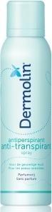 Dermolin Dermolin Anti transpirant spray (150 ml)