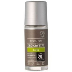 Urtekram Deodorant crystal roll on limoen (50 ml)