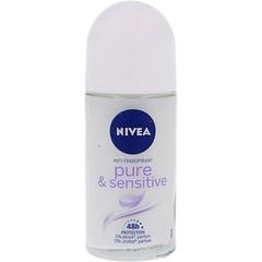 Nivea Deodorant roller sensitive & pure (50 ml)