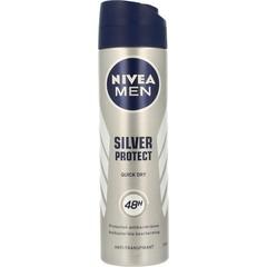 Nivea Men deodorant spray silver protect dynamic power (150 ml)
