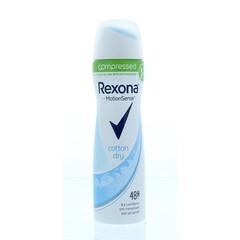 Rexona Deodorant spray compressed dry cotton (75 ml)