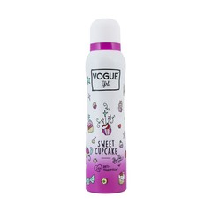 Vogue Girl deodorant sweet cupcake (150 ml)