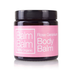 Balm Balm Rose geranium body balm (120 ml)