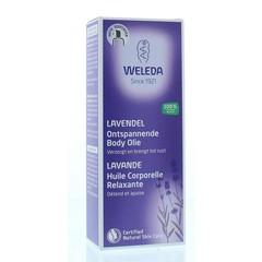 Weleda Lavendel ontspannende body olie (100 ml)