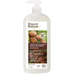 Douce Nature Douchecreme vettend met karite olie sheabutter (1 liter)