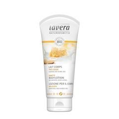 Lavera Bodylotion/body lotion gentle almond & honey F-D (200 ml)