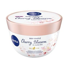 Nivea Body oil souffle cherry blossom & jojoba (200 ml)