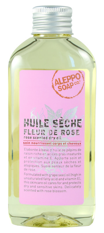 Aleppo Soap Co Body olie roos (150 ml)