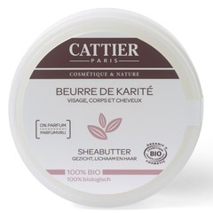 Cattier Sheabutter (100 gram)