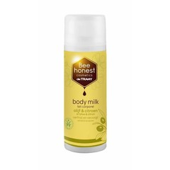 Traay Bee Honest Bodymilk olijf & citroen bdih (150 ml)