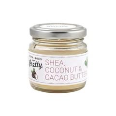 Zoya Goes Pretty Shea cacao & coconut butter (60 gram)