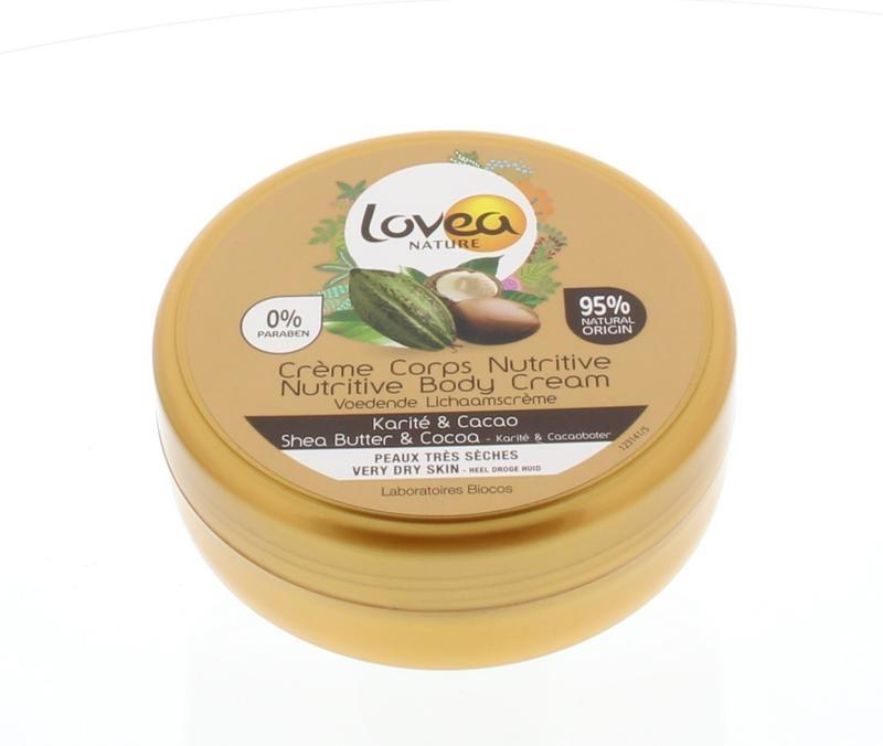Lovea Lovea Body cream shea & cocoa (150 ml)