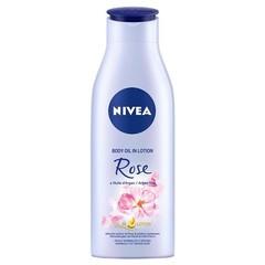 Nivea Body oil lotion roos & argan (200 ml)
