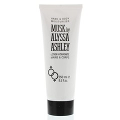 Alyssa Ashley Musk hand and body moisturiser tube (250 ml)