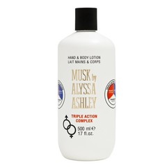 Alyssa Ashley Musk hand & body triple action lotion (500 ml)