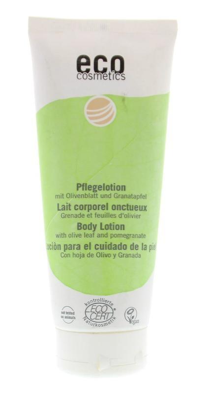 Eco Cosmetics Eco Cosmetics Body lotion olijf & granaatappel (200 ml)