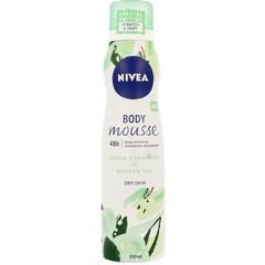 Nivea Body lotion mousse fresh cucumber & matcha tea (200 ml)