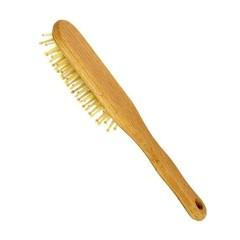 Forsters Haarborstel hout noppen beukenhout ovaal (1 stuks)