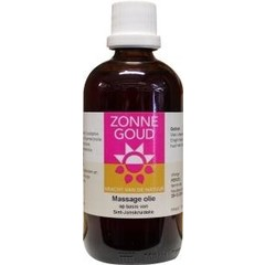 Zonnegoud Massage olie (100 ml)