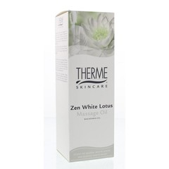 Therme Zen white lotus massage oil (125 ml)