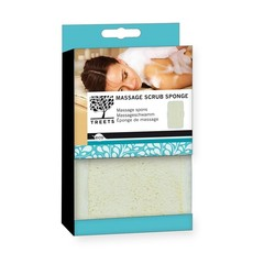 Treets Massage scrub sponge (1 stuks)