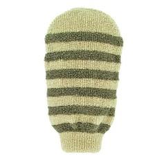 Forsters Massage handschoen gestreept linnen / katoen (1 stuks)