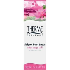 Therme Saigon pink lotus massage olie (125 ml)