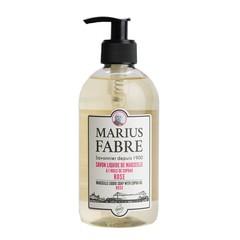 Marius Fabre Zeep roos met pomp (400 ml)